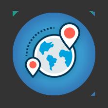 从所在位置获取其他国家的Google或Bing搜索结果