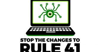 不要让美国政府侵入我们的计算机 – 停止修订第41条规则