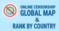 網路審查:各個國家互聯網限制的全球地圖及排名(資訊圖表)